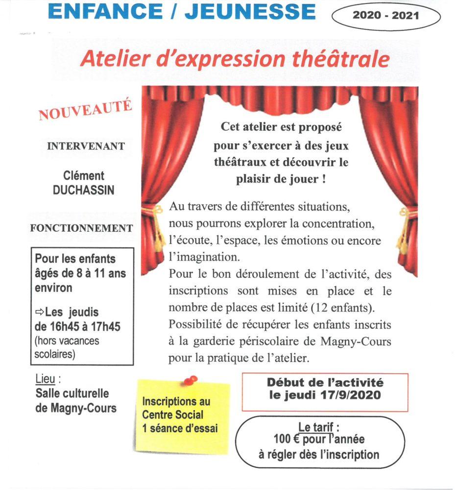 EXPRESSION THEATRALE 1